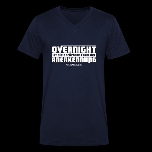 Overnight - Männer Bio-T-Shirt mit V-Ausschnitt von Stanley & Stella