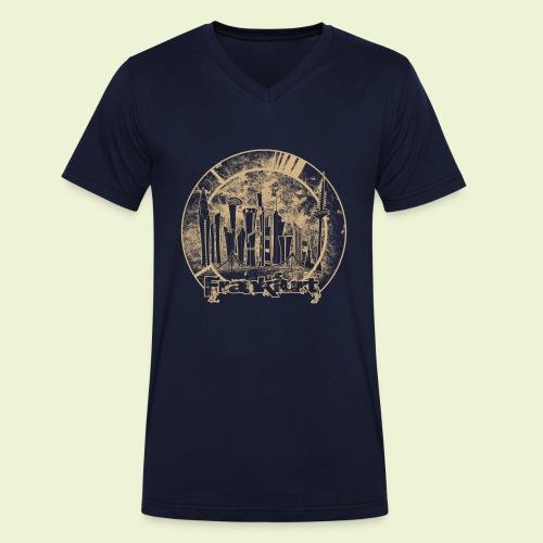 FFM Skyline R - Männer Bio-T-Shirt mit V-Ausschnitt von Stanley & Stella