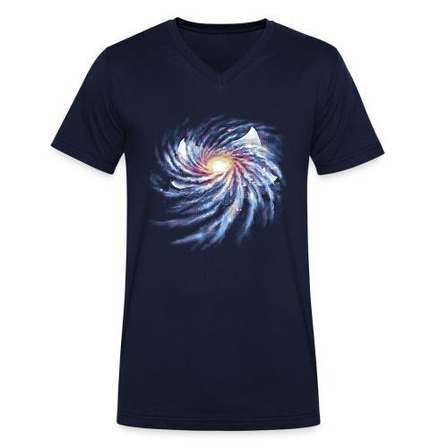 Livre de L'Espace-Temps - Men's Organic V-Neck T-Shirt by Stanley & Stella