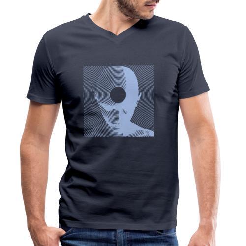 Free-Mind dove - Männer Bio-T-Shirt mit V-Ausschnitt von Stanley & Stella