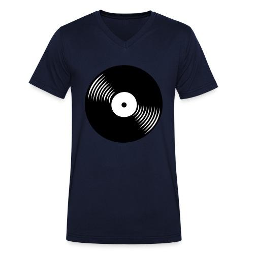 platte - Männer Bio-T-Shirt mit V-Ausschnitt von Stanley & Stella