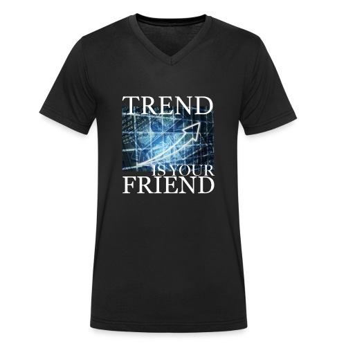 Designed T-Shirt for Traders Stock Market Forex - T-shirt ecologica da uomo con scollo a V di Stanley & Stella