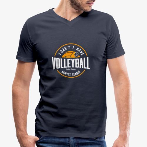 je peux pas j ai volley - T-shirt bio col V Stanley & Stella Homme