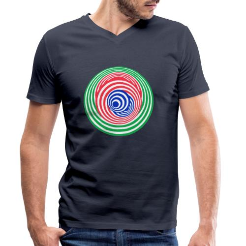 Tricky - Men's Organic V-Neck T-Shirt by Stanley & Stella