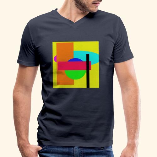 Pop-art71 - T-shirt ecologica da uomo con scollo a V di Stanley & Stella