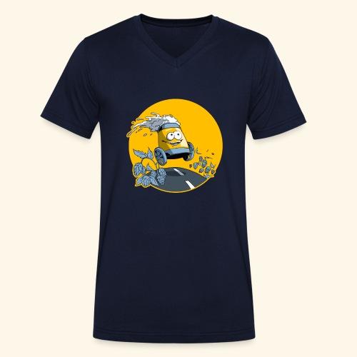 Bière en vadrouille - T-shirt bio col V Stanley & Stella Homme
