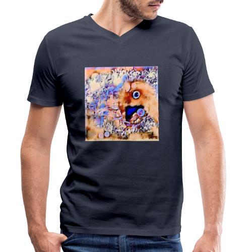 ST@RbiRD - Økologisk Stanley & Stella T-shirt med V-udskæring til herrer