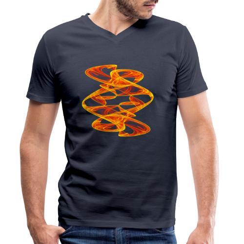 gühende Pfade Bild Chaos 7426aut - Männer Bio-T-Shirt mit V-Ausschnitt von Stanley & Stella