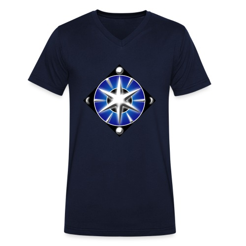 Blason elfique - T-shirt bio col V Stanley & Stella Homme