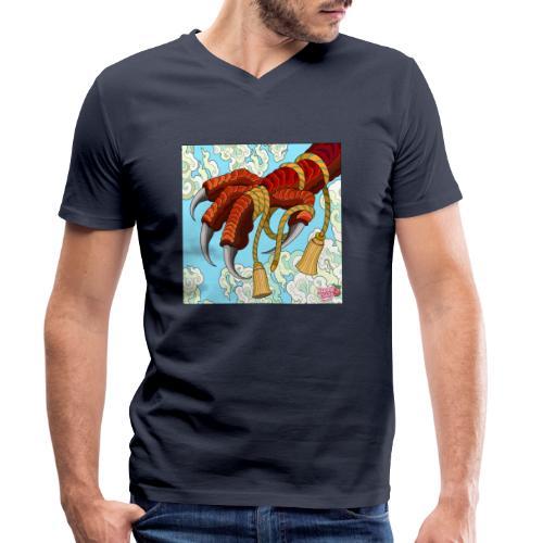 klo - Økologisk Stanley & Stella T-shirt med V-udskæring til herrer
