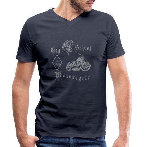 Old School MC 1968 - Männer Bio-T-Shirt mit V-Ausschnitt von Stanley & Stella
