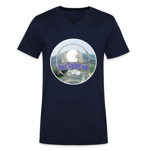 BikeToDream - T-shirt bio col V Stanley & Stella Homme