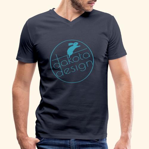 DAKOTA design - Ekologisk T-shirt med V-ringning herr från Stanley & Stella