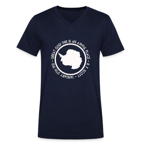 Great God! - Men's Organic V-Neck T-Shirt by Stanley & Stella