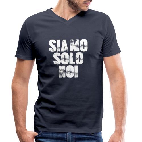 siamo solo noi - T-shirt ecologica da uomo con scollo a V di Stanley & Stella