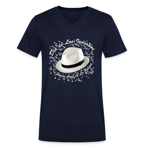 Dia de Los Indianos - Männer Bio-T-Shirt mit V-Ausschnitt von Stanley & Stella