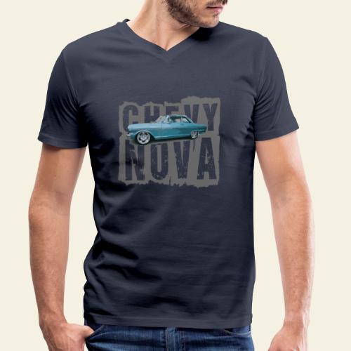 nova - Økologisk Stanley & Stella T-shirt med V-udskæring til herrer