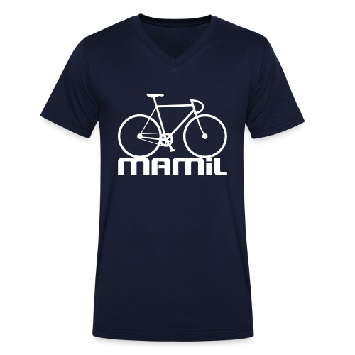 MAMiL Water bottle - Men's Organic V-Neck T-Shirt by Stanley & Stella