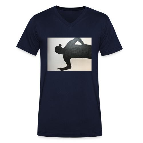 Zlatan - Ekologisk T-shirt med V-ringning herr från Stanley & Stella