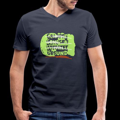 g4g - Männer Bio-T-Shirt mit V-Ausschnitt von Stanley & Stella