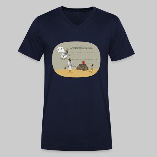 VJocys Abraham - Men's Organic V-Neck T-Shirt by Stanley & Stella
