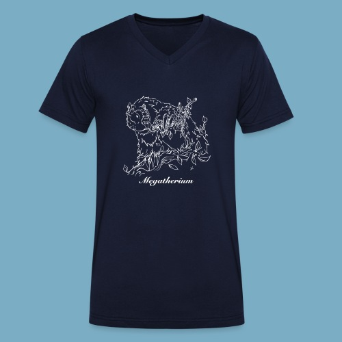 Faultier shirt woman - Männer Bio-T-Shirt mit V-Ausschnitt von Stanley & Stella