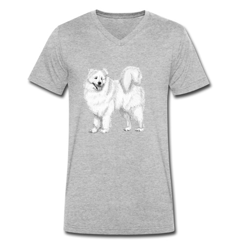 samoyed - Økologisk Stanley & Stella T-shirt med V-udskæring til herrer