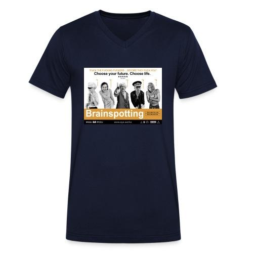 Brainspotting - Men's Organic V-Neck T-Shirt by Stanley & Stella