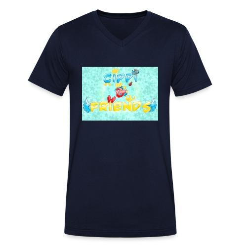 Tazza Cippi & Friends - T-shirt ecologica da uomo con scollo a V di Stanley & Stella