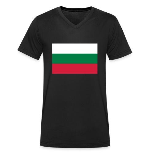 Bulgaria - Mannen bio T-shirt met V-hals van Stanley & Stella