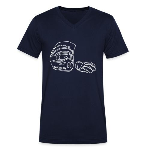 Rider - Männer Bio-T-Shirt mit V-Ausschnitt von Stanley & Stella