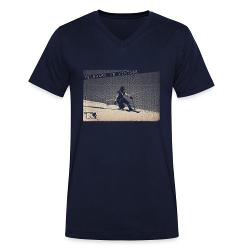 2017 Telemark Vintage Jean Louis - T-shirt bio col V Stanley & Stella Homme
