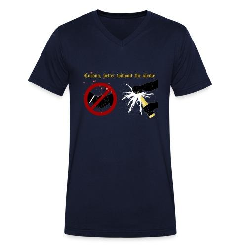 corona - Ekologisk T-shirt med V-ringning herr från Stanley & Stella