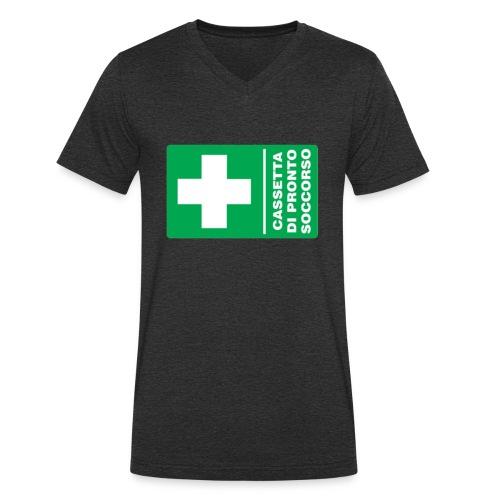 cartello png - T-shirt ecologica da uomo con scollo a V di Stanley & Stella