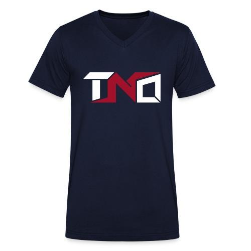 TNO LOGO 2 - Camiseta ecológica hombre con cuello de pico de Stanley & Stella