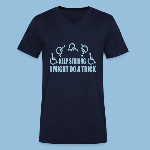 Mightdoatrick1 - Mannen bio T-shirt met V-hals van Stanley & Stella