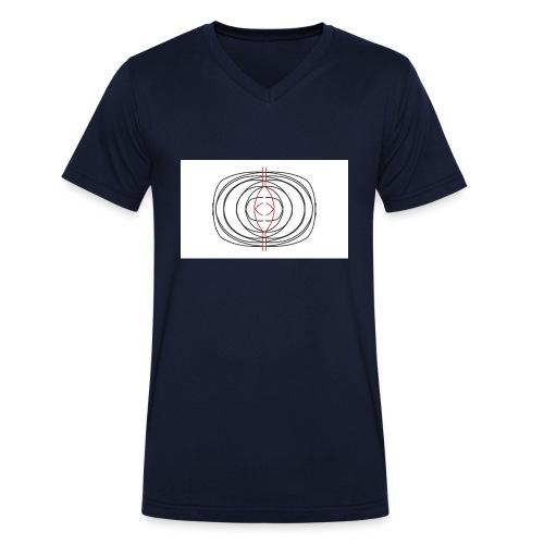 Project Capture 9 - Camiseta ecológica hombre con cuello de pico de Stanley & Stella