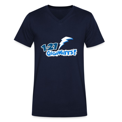 1.21 Gigawatts - Men's Organic V-Neck T-Shirt by Stanley & Stella