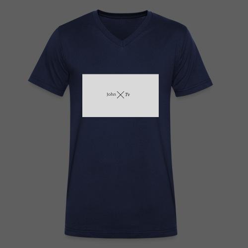 john tv - Men's Organic V-Neck T-Shirt by Stanley & Stella