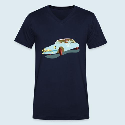 Citroen DS Rallye Monte Carlo - Männer Bio-T-Shirt mit V-Ausschnitt von Stanley & Stella