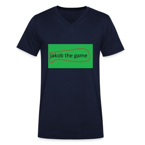 jakob the game - Økologisk Stanley & Stella T-shirt med V-udskæring til herrer