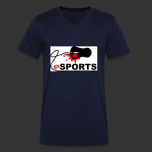 eSPORTS - Männer Bio-T-Shirt mit V-Ausschnitt von Stanley & Stella