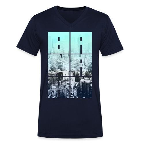 BANAAN 05 - Mannen bio T-shirt met V-hals van Stanley & Stella