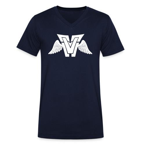 asdfasdfasfdasdf - Männer Bio-T-Shirt mit V-Ausschnitt von Stanley & Stella