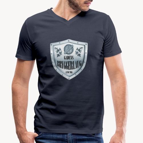 bla gra - Økologisk Stanley & Stella T-shirt med V-udskæring til herrer