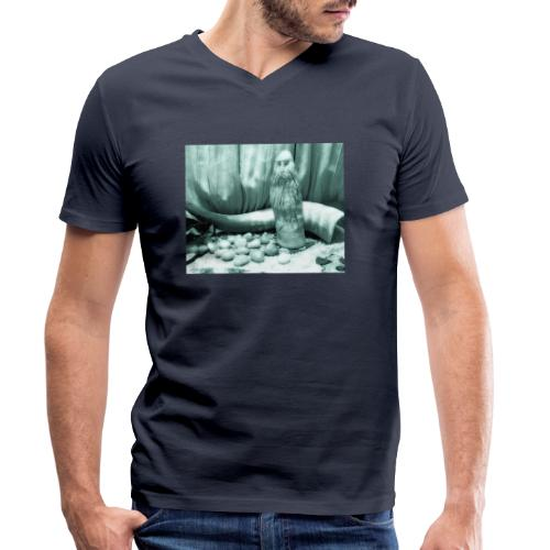 Odino e le Rune - T-shirt ecologica da uomo con scollo a V di Stanley & Stella