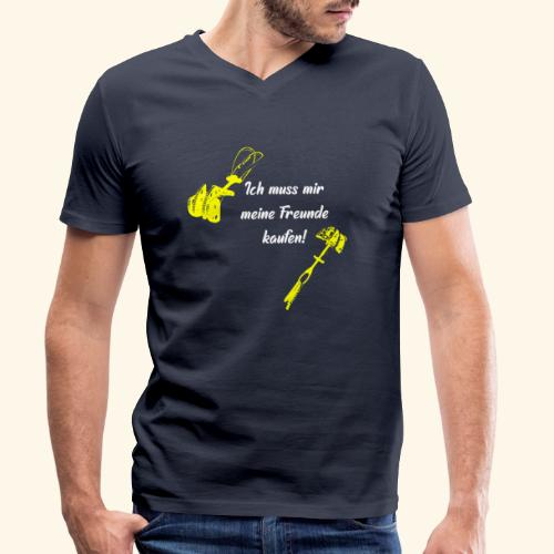 Freunde kaufen - Männer Bio-T-Shirt mit V-Ausschnitt von Stanley & Stella