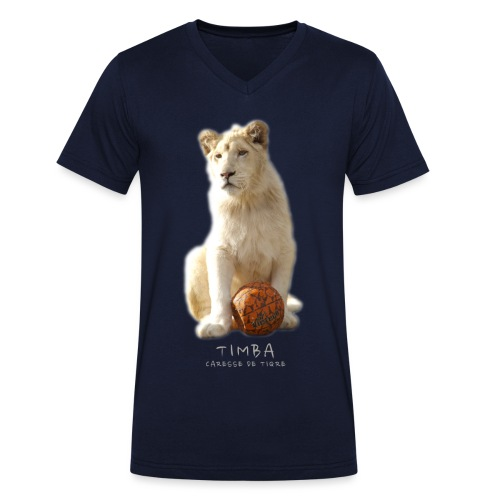 Timba ballon 2 - T-shirt bio col V Stanley & Stella Homme