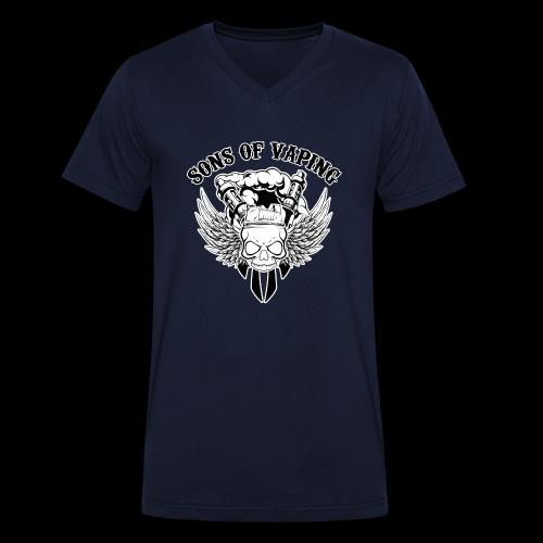 Sons Of Vaping - T-shirt ecologica da uomo con scollo a V di Stanley & Stella