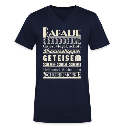 Rapalje - Mannen bio T-shirt met V-hals van Stanley & Stella